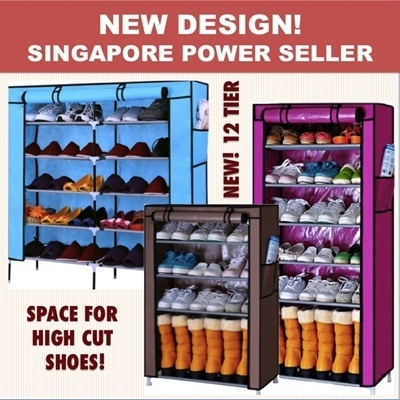 *UBH* Shoe Rack / Shelf  Good Quality Water Proof Protect from Dust Durable Fast Delivery