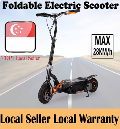 2014 HOTTEST ITEM! Latest EVO Electric Foldable Scooter/local seller/electric bike