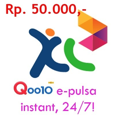 [Rp.50.000 XL OPERATOR] E-PULSA ISI PULSA ONLINE 24/7 !! [product ID :58]