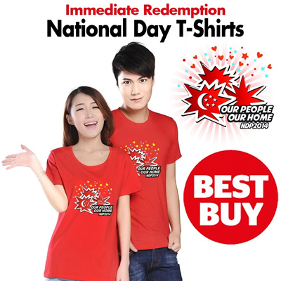 [READY STOCKS]49th Anniversary National Day T-Shirt. 100% cotton