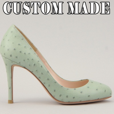 ★ CUSTOM MADE PUMPS ★ 98 clolr ★ high quality handmade shoes made with Italian leather