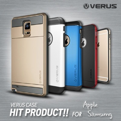 [VERUS] Verus HIT!! Case Collection ★Quick Delivery★ Samsung Galaxy S4 S5 Apple iPhone 5S iPhone 6 Plus Galaxy Note 4 3 LG G3 / Shield Bumper Damda Slide Smart Phone Case