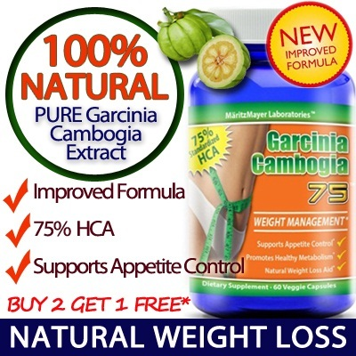 [Buy 2 Free 1*] Garcinia Cambogia 75 HCA 75% Improved Formula Slimming Pills Weight Loss Made in USA