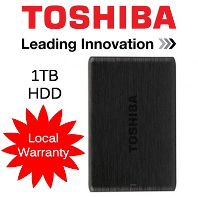 Toshiba 1TB Canvio Simple 3.0 HDD / External Harddisk with Local Warranty!