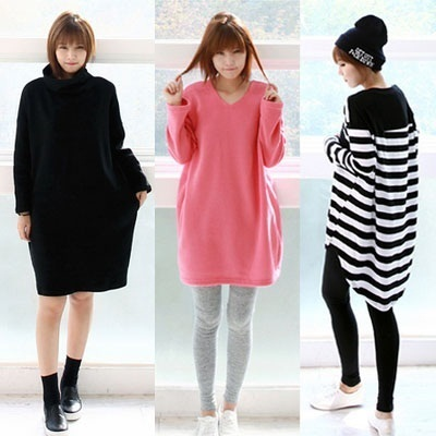 Korean No.1 HOT! Clothing Shop [applemango] - Various Type of Womens Long T-shirts Dress Pants PLUS SIZE Travel Item Travel Acc
