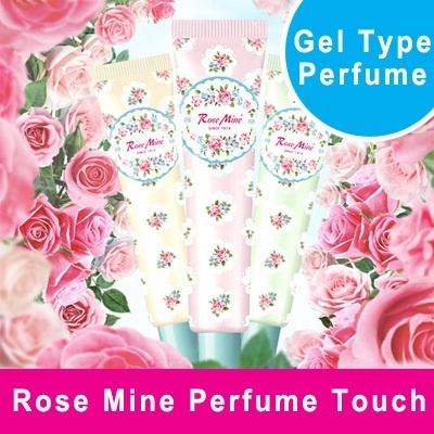 ★Rose Mine Perfume Touch★ Beautifully Brilliant Fragrance Shimmering Perfume Gel / Long lasting Fragrance + Twinkles On Your Skin