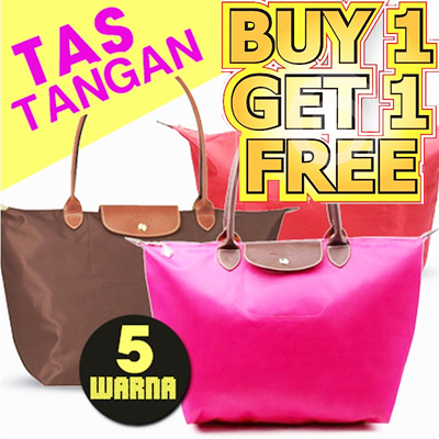 [BUY 1 GET 1 FREE][LIMITED STOCK][CLEARANCE] STYLISH TOTE BAG 3 COLOURS