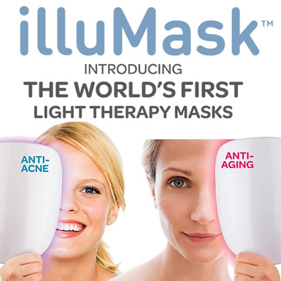 *FANTASTIC REVIEW - WORLD 1ST LIGHT THERAPY MASK* IlluMask Anti-Acne Light Therapy / Anti-Aging Phototherapy Mask