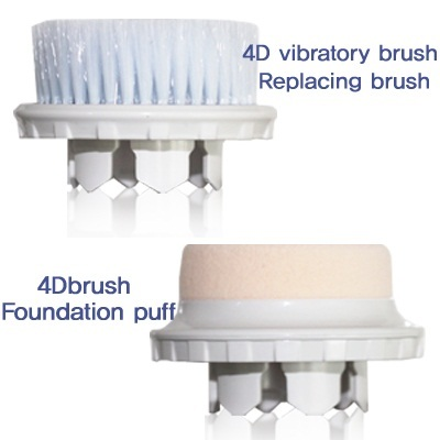 ★event 1+1★4D vibratory pore brush Replacing brush/Foundation puff