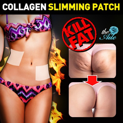the Aile ★ COLLAGEN + CLA + Vitamin E ★ Diet Body Patch 6patches /  More Intensive / Much Stronger Diet Slimming Patch