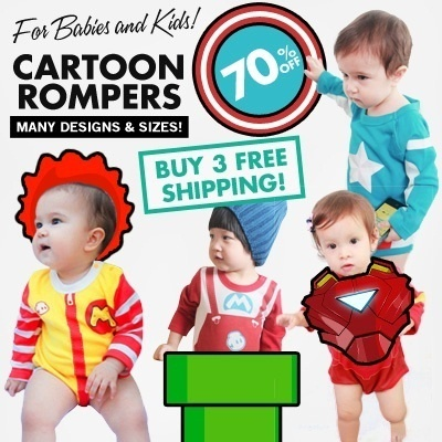 [Baby Kids]Cartoon/Disney Rompers/Costume