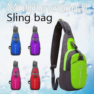 ▶Multifunctional Sling Bag◀GBB-Casual Sling bag/ Hip sack/ cross Bag/ backpack-Suitable for Outdoor Sports and Travel