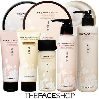 ♥[TheFaceShop]♥ Rice Water Bright Cleansing Series