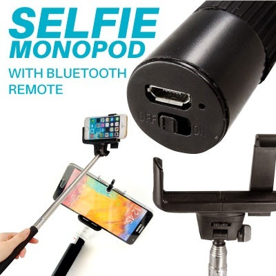[Malaysia Seller]Monopod with Built-In Bluetooth Shutter