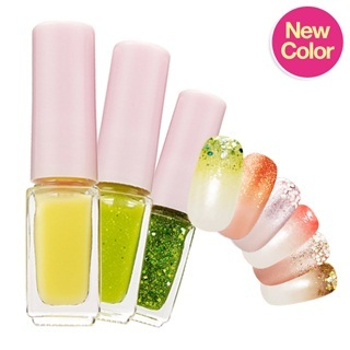 [JK]Etude House★JUICY COCKTAIL GRADATION NAIL SET3EA / 4g★Korea cosmetic