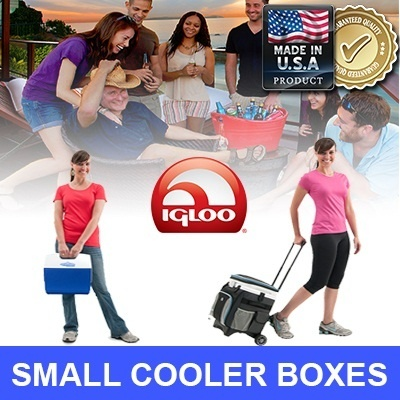 [JAPAN/USA TOP SELLER] ICE LAST 2 DAYS! Cooler Box for food and drinks/put up to 14 cans **AIR TIGHT SEAL**BPA Free**Stain and Odor Resistant**