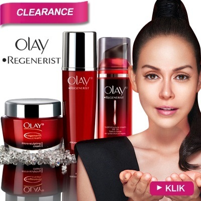 [50%OFF HRG COUNTER]OLAY REGENERIST - 20% MORE ANTI-AGEING INGREDIENTS - NEW GENERATION