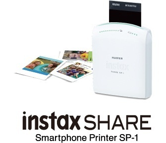 [FUJIFILM]Instax SHARE Photo Printer SP-1 Mobile Portable Instant Polaroid