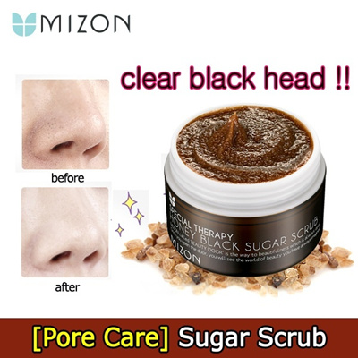 ♥SPECIAL SALE♥ ★Blackhead out!!★ HONEY BLACK SUGAR SCRUB / facial scrub/peel