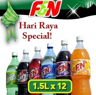 Festive Drinks! FnN Assorted 1.5L x 12. Mix N Match!