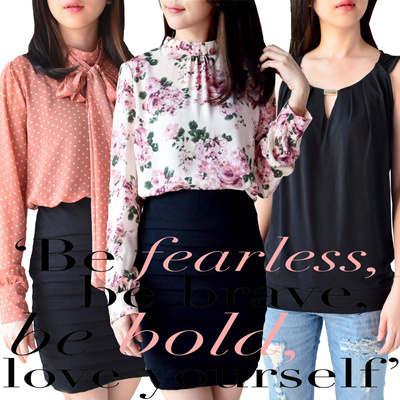 Part3 Fresh-New arrival-F21 Bow Flower Print blouse/casual/officelook