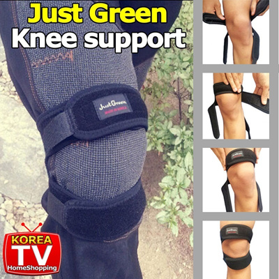 ★FreeGIFT★[Just green knee support] Walking/Camping/Working out/Knee protecter/Knee