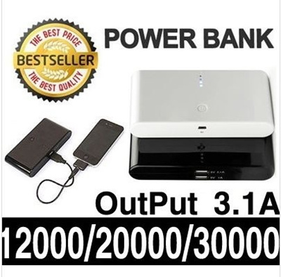 [7Days All KILL!] PRO CHARGE 20000/12000/Battery Portable dual USB Port blackberry Galaxy s3 s4