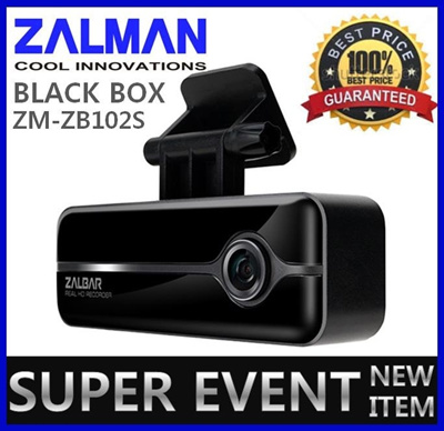 ★Made in Korea★ Delivery 1Day! ZALMAN ZALBAR ZM-ZB102S 2CH REAL HD Car Black Box GPS Dash Cam DVR Recorder 16GB Blackbox Car Camera Carcamera