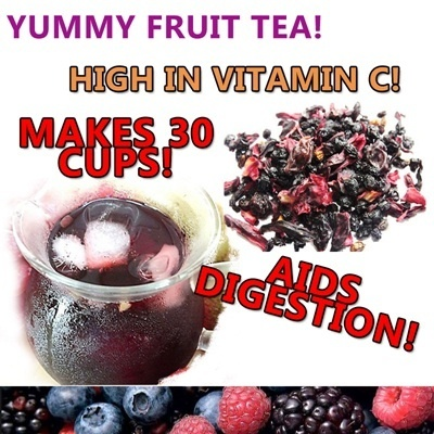 Yummy Fruit Tea Makes 30 Cups! {High in Vitamin C Non-Caffeine} Freshly imported From Canada