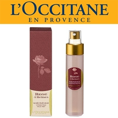 loccitane face mist 50ml ROSE 4 REINES HYDRATING FACE MIST
