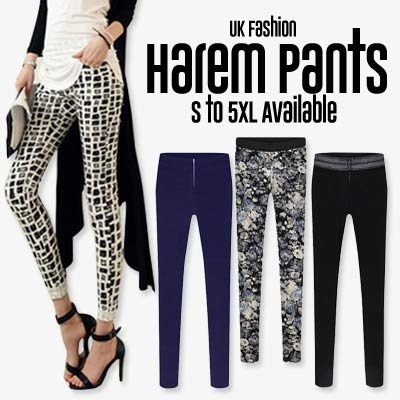 2014 New Arrival Autumn- Winter UK Fashion Women Harem Pants/ Slim Fit Pants