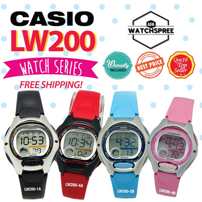 [CHEAPEST PRICE IN SPORE] *CASIO GENUINE* LW200 SERIES! Christmas Sale! Free Shipping and 1 year warranty!