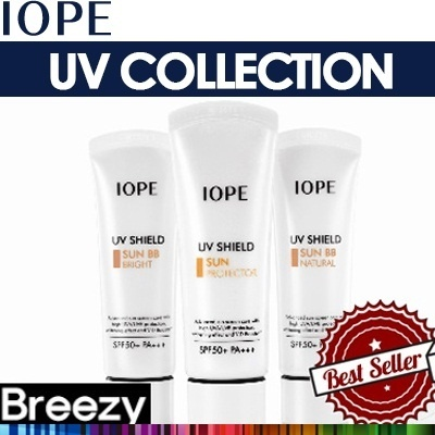 BREEZY ★ Protect your Skin from the SUN! [IOPE] UV Shield SUN Care Line / Sun Block / Sun Cream / Sun Mild Clinic SPF 25 PA++ / Sun Protector / Sun Makeup Base SPF 50+ PA+++ / Sun BB Bright / MEN Sun