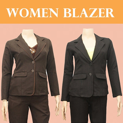 NEW UPDATE 20.02.14 ♥ WOMEN BLAZER FREE-CHIFFON SCARF and CROPPED JACKET ♥ SIZE S / M /L/