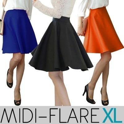 [TIME SALE] KOREAN STYLE ★ Super Thick WEDGES Spandex SKIRT Collection / Made in Korea / Celebrity Style / High quality / Office Look / Ready Stock