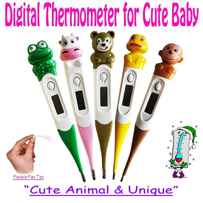 ❤ Cute Animal dan Unique ❤ | ✿ DIGITAL THERMOMETER ✿ | Premium Quality dengan Disain Kartun yg Lucu-lucu..