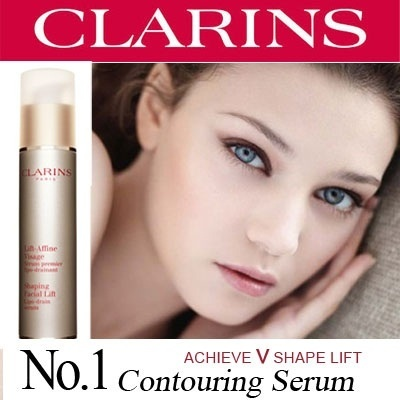 Clarins Shaping Facial Lift Lipo-Drain Serum 50ml *Achieve V shape lift* Clarins Defining Eye Lift 8mlx2 16ml *