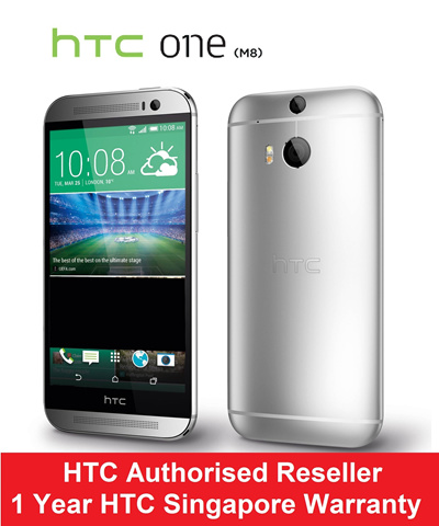 HTC ONE M8 16GB! Gunmetal Grey and Glacial Silver available! 1 year Singapore local warranty.