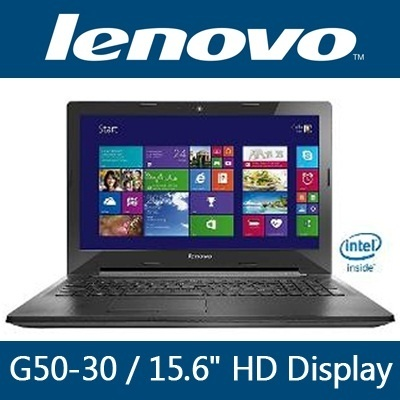 Lenovo G50-30 15.6inch HD Display Intel Celeron N2820 (2.13GHz)/ 500GB HDD / 2GB RAM