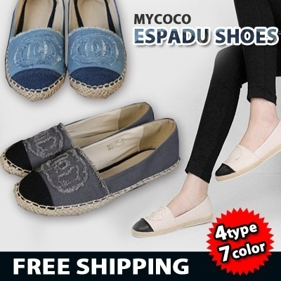 Only Today!! SALE [Free shipping] 2014 S/S espadu shoes 4type 7color In Japan korea the most popular shoes