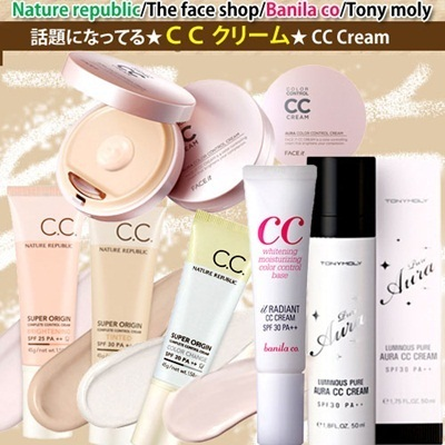 ★Hot Topic ★CC cream★[Nature republic/The face shop/Banila co/Tony moly/Etude/MISSHA/Innisfree/APIEU