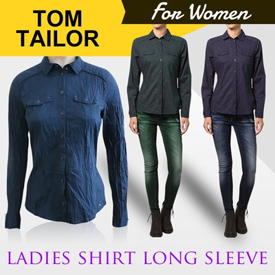 New Collection ✿ Tom Tailor Ladies Shirt Long Sleeve ✿