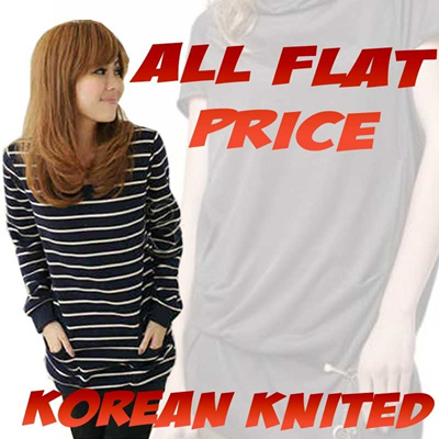  New Arrival  Korean Knitted  All Flat Price and Best_Quality available with 39type
