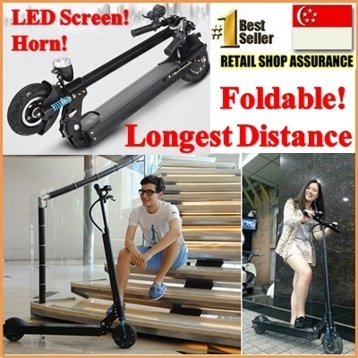 100% Authentic Foldable Electric Scooter by Sheng Te [升特] SemTech| 10.5ah/15.4ah/18.2ah | 35km/42km/52km | Mini Electric Bike Bicycle | E-Scooter Speedway Myway Patgear airwheel