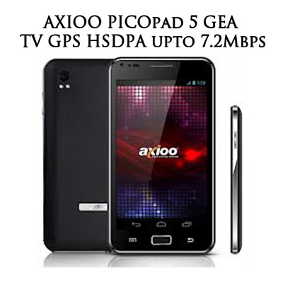 AXIOO PICOpad 5 GEA TV GPS HSDPA upto 7.2Mbps