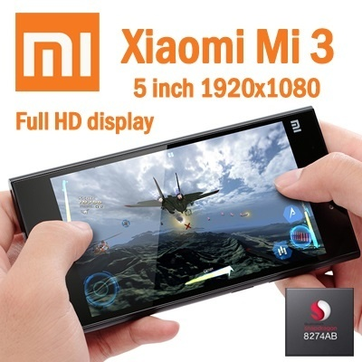 XIAOMI MI3 5inch Full HD Screen 16GB Rom + 2GB Ram Quad Core Snapdragan 800 13MP Camera !!! Export Set !!!