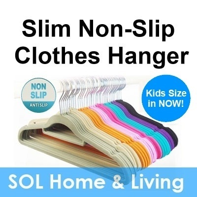 Magic velvet clothes hanger - Non-Slip 30/50p Clothes Hanger  Big Sale! Kids Hangers available too!