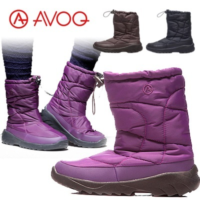 Womens Winter warm waterproof boots