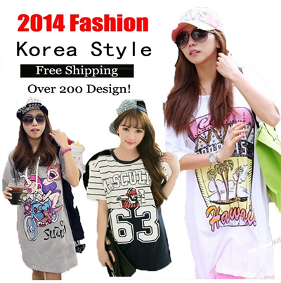 *Free Shipping*2014 Korea Style loose clothes/maternity dress/T-shirt/leggings