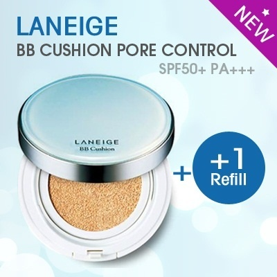 ★LANEIGE★(NEW)BB Cushion [Pore Control] SPF50+ PA+++/ WATERY CUSHION CONCEALER/ BRUSH PACT